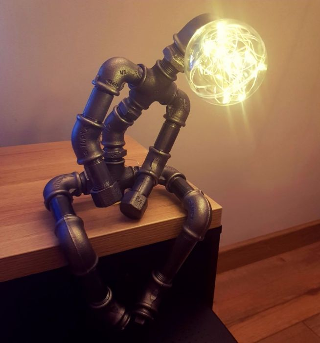 Industrialna lampka -