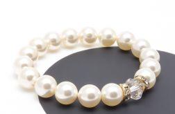Bransoletka z pereł Perła Cream 02