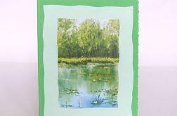 Kartka uniwersalna - jezioro 1