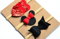 FairyBows zestaw opasek 3 sztuki Minnie