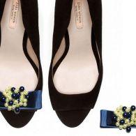 blue pearl - spinki do butów