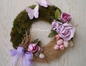 Wielkanocny wianek