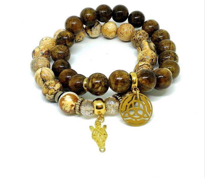 AFRICA - SET - kamienie naturalne