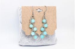Kolczyki gałązka Light Turquoise