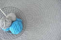dywan w stylu skandynawskim