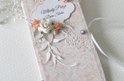 Ślubna kopertówka - inaczej vel.31