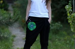 Spodnie typu baggy WIATR czarne