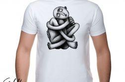 Zaplątanie - t-shirt męski - różne kolory