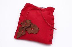 Mała torebka Czerwona III