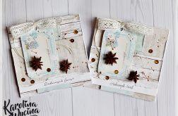 Rustykalne kartki świąteczne