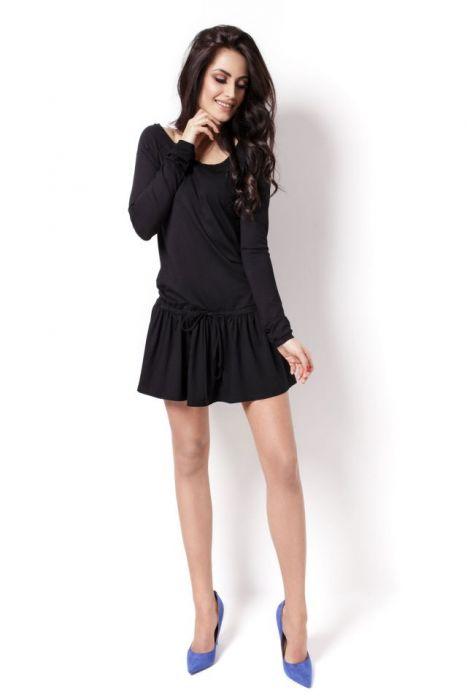 201-CZARNY Sukienka Agnes r. M