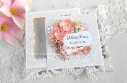 Ślubna kartka w pudełku 142