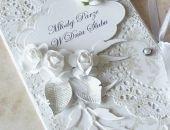 Ślubna kopertówka - inaczej