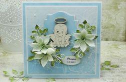 Pamiątka chrztu św. - aniołek