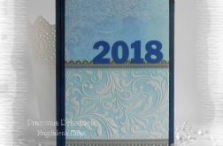 Kalendarz książkowy A5 2018 układ dzienny