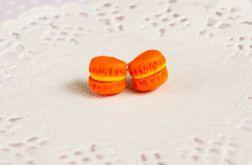 Pomarańczowe makaroniki - sztyfty