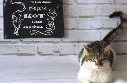 Obrazek dla miłośników kotów, prezent