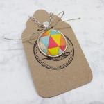 Medalion - Trójkąty - Fabricate - Medalion ze wzorek trójkątów