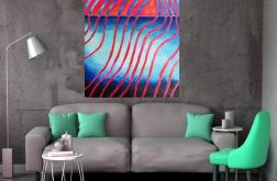 obraz olejny abstrakcja duże płótno