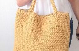Duża torba na zakupy,plażowa,Torebka szydełkowa.