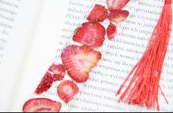Zakładka do książki - słodka truskawka