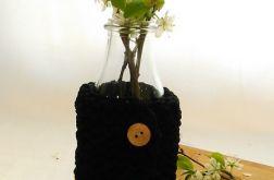 Wazon sznurek bawełniany czarny