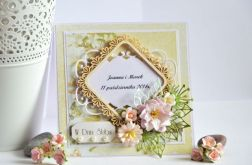 Kartka ślubna - wzor
