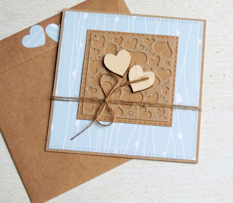 kartka ślubna lub miłosna : mięta