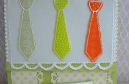 Krawat na urodziny -kartka meska
