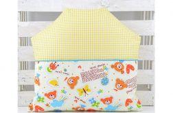 Poduszka dla dziecka - Domek Misia 2