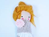 Złota Ania - lalka przytulanka