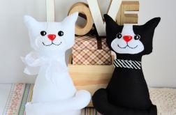 Para ślubna - kotki torebkowe plus dodatki