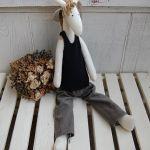 Żyrafka Krycha - tilda -