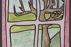 """obraz z serii """"drzewa"""" nr 1"""