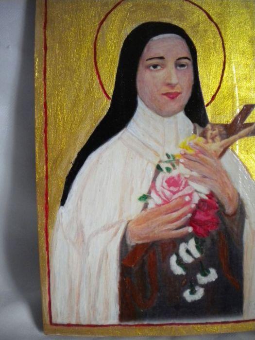 Ikona św Teresa - widok