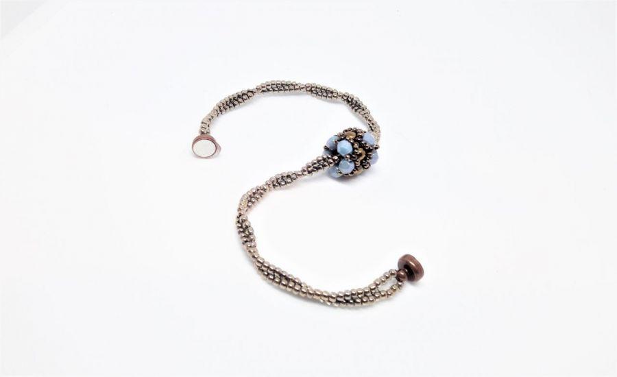 Bransoletka z serii Light Blue - Bransoletka z zapięciem magnetycznym
