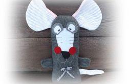 mysz wielkoucha paski