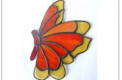 Motyl ze szkła OKAZJA!