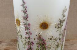 świece FLORA -z naturalnymi roślinami #3