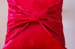 Poszewka na poduszkę-czerwona