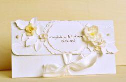 Kopertówka kartka ślubna urodziny, imieniny