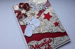 Kartka bożonarodzeniowa z kopertą, duża