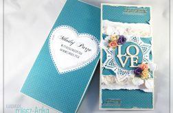 Kartka w pudełku na Ślub 1