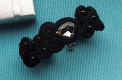 Czarne Kryształy bransoletka sutasz
