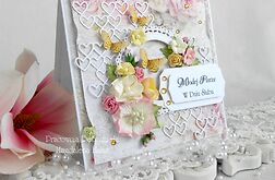 Ślubna kartka w pudełku z okienkiem 24