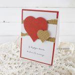 Walentynka z sercami, 596 -