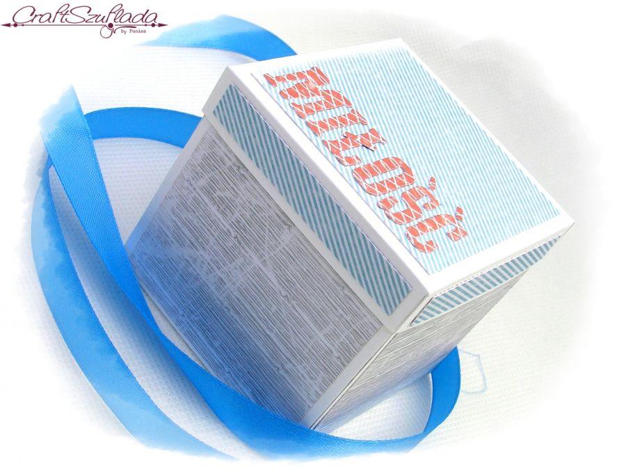 Eksplodujące pudełko ślubne