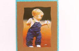 Kartka okolicznościowa - chłopczyk