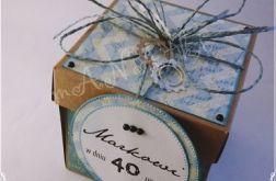 Pudełko urodzinowe alternatywa koperty
