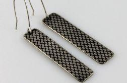 Rybia łuska - metalowe kolczyki 191129-02